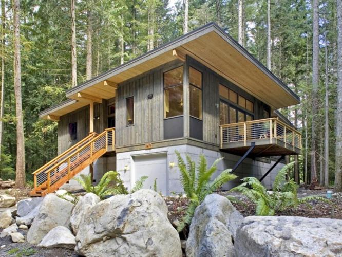 42GS-Modern yet Rustic Cabin for 4!
